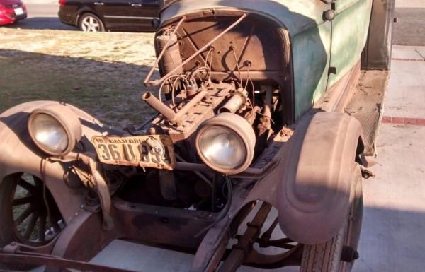 '26 Pontiac front engine