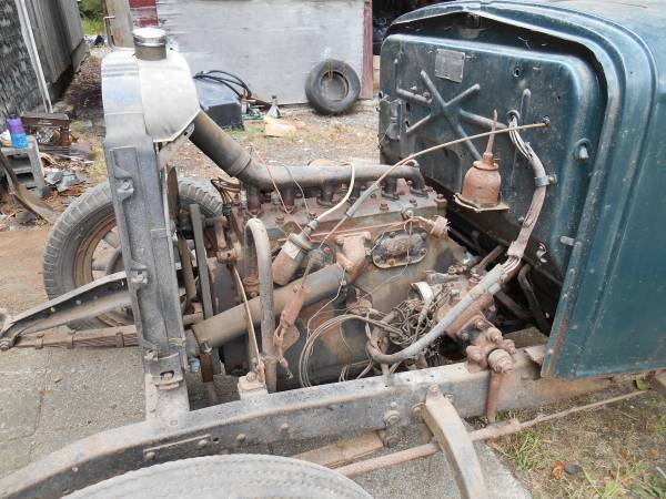 '30 Essex Super 6 engine