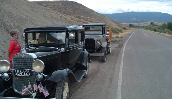 '31 Chevy package road trip