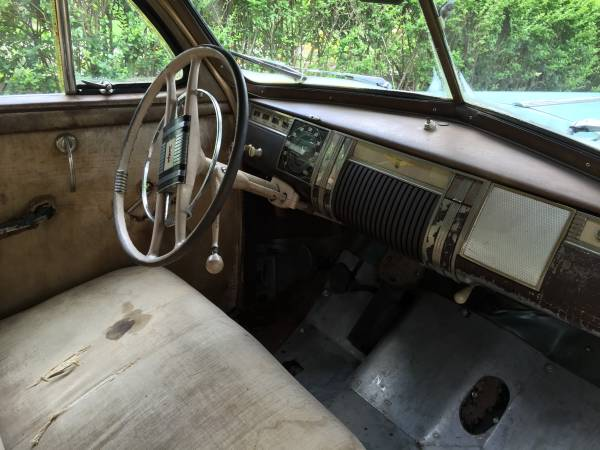 '41 Dodge front seat