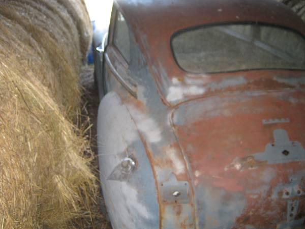'46 Dodge left rear