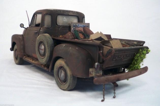 '53 Chevy scale left