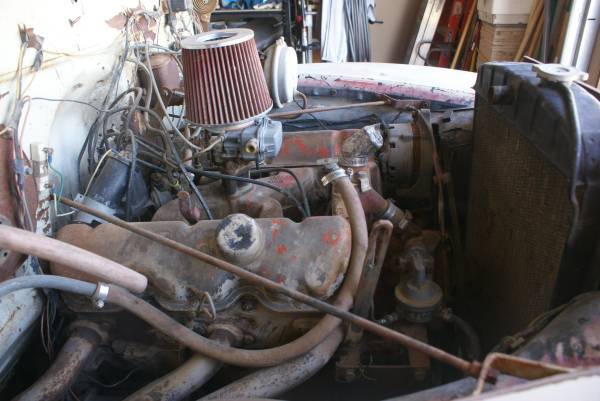 '54 Chevy 3800 replaced engine