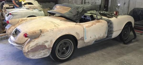 '54 Corvette right side