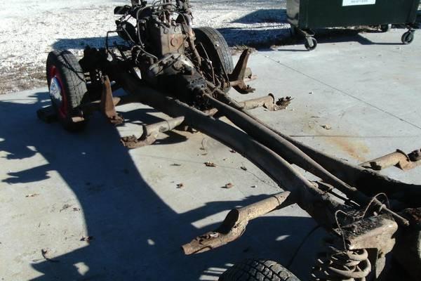 '55 MB frame left rear