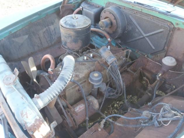'55 Plymonth Plaza wagon engine