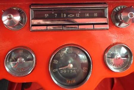 '56 Corvette dash