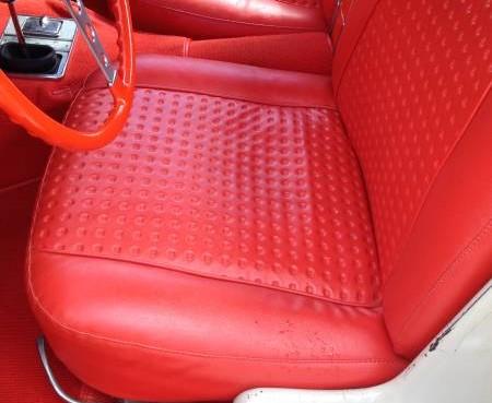 '56 Corvette seat