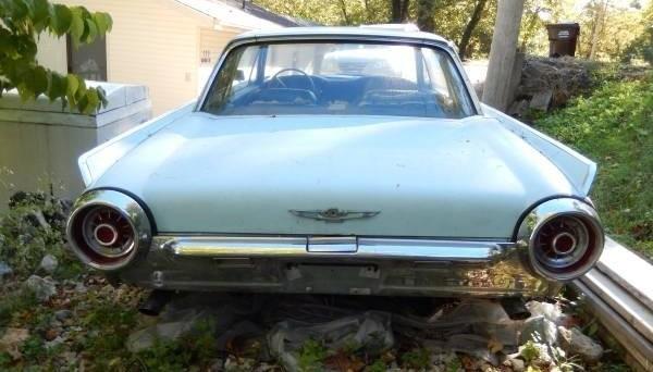 '63 Thunder bird rear