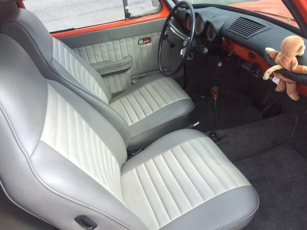 '67 VW pickup int.