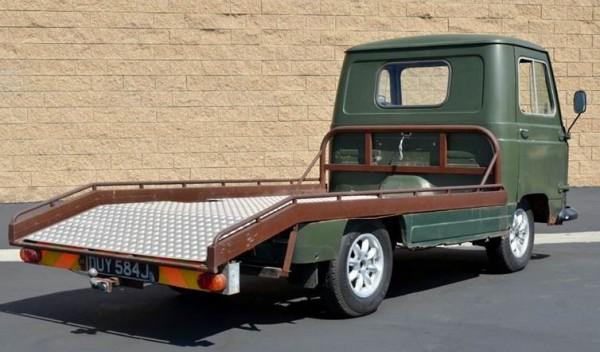 '69 BMC truck rear right