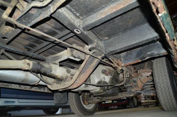 '69 BMC truck under