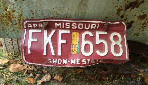 '72 Cougar Con. plate