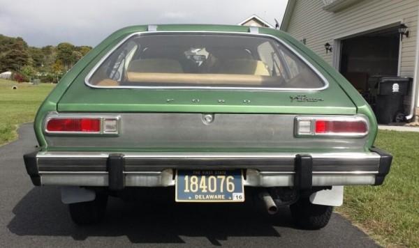 '76 Pinto rear