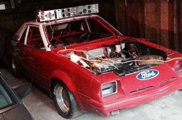 '83 Ford EXP race car