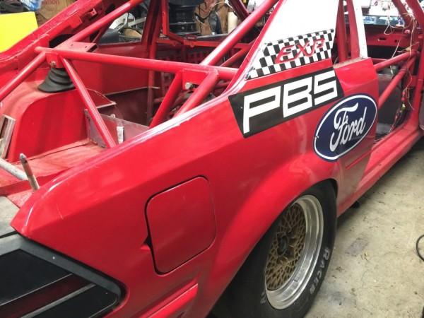 '83 Ford EXP race car left rear