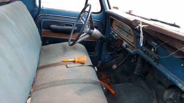 F100 Interior