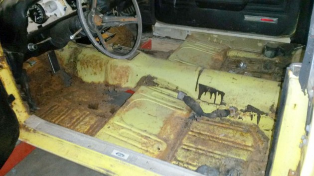 Rusty Floors