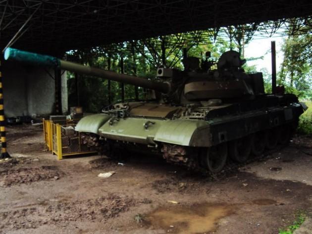 T-55 left side