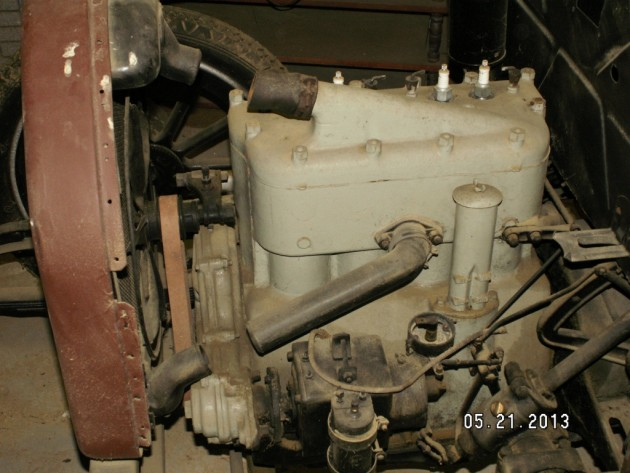 1918 Willys engine