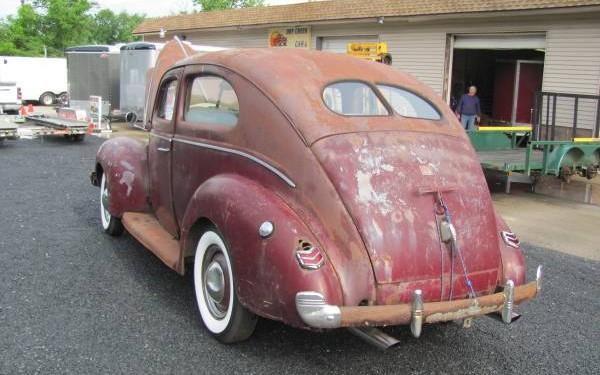 1940 Ford rear