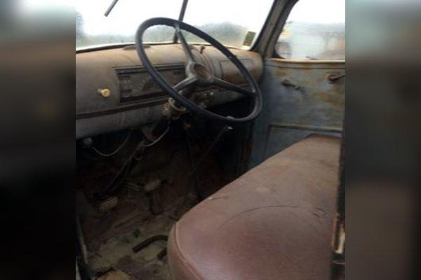 1946 Chevrolet Truck Interior