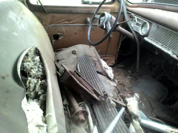 1949 Packard Wagon Interior