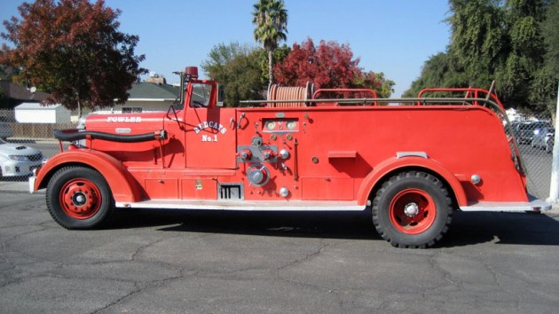 1951 Van Pelt Pumper Truck