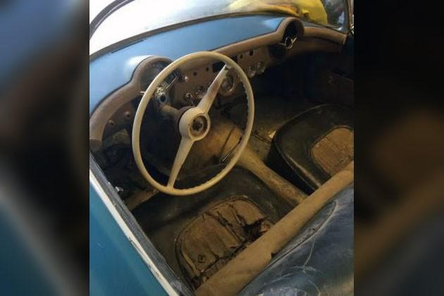 1954 Corvette Interior