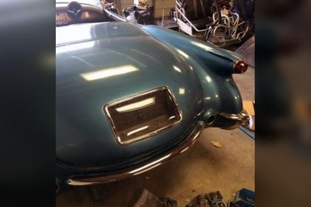 1954 Corvette Project