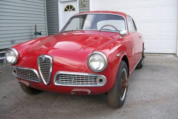 1962 Alfa Romeo Sprint Veloce