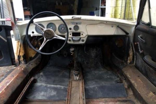 1964 Porsche 356 Interior