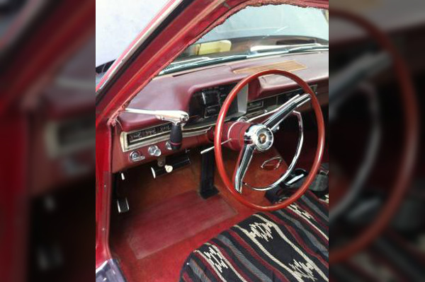 1966 Fury Wagon Interior
