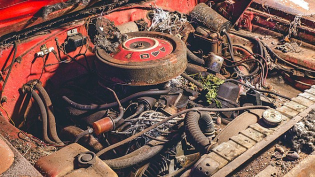 1969 Dodge Daytona Engine