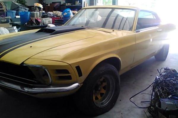 1970 Mustang Mach 1