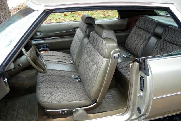1973 Cadillac Interior