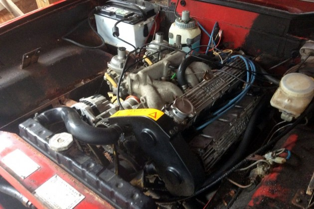 1973 Jensen Healey Engine