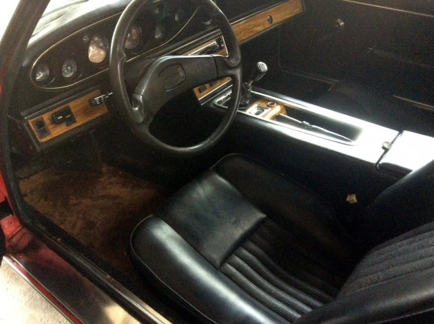 1973 Jensen Healey INterior