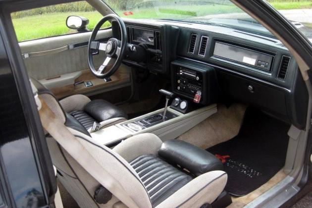 1984 Buick Grand National Interior