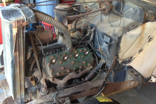37 Ford engine
