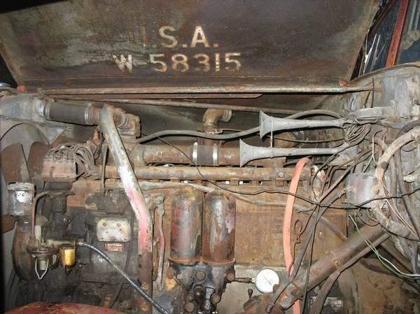 '42 Federal engine