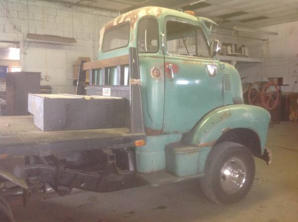 '49 COE Chevy right side