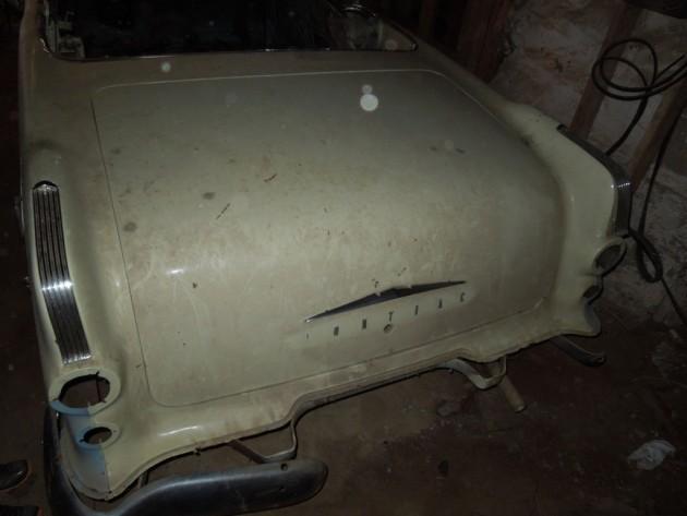 '55 Pontiac Star Chief rear