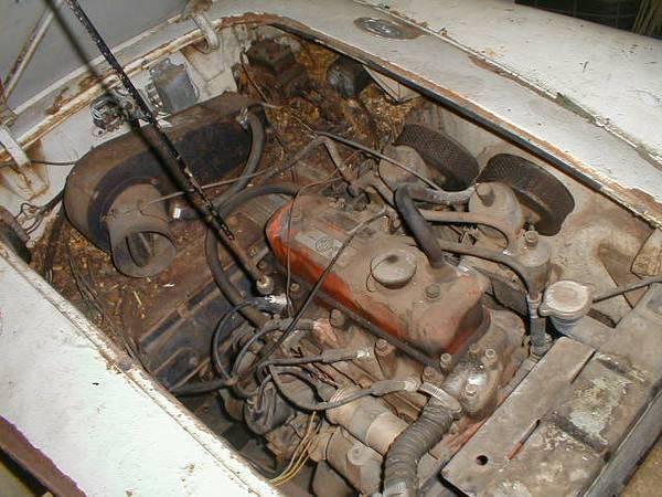 '59 MGA complete engine