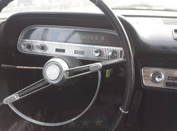 '62 Corvair dash