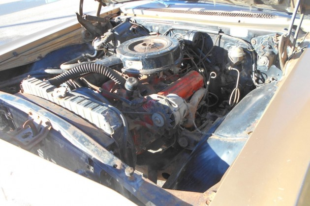 65 Chev Wagon engine