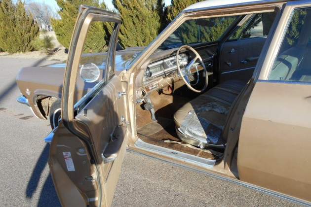 65 Chev Wagon interior