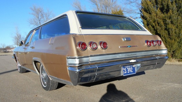 65 Chev Wagon rear