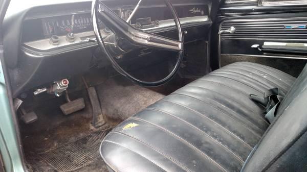 66 Buick interior