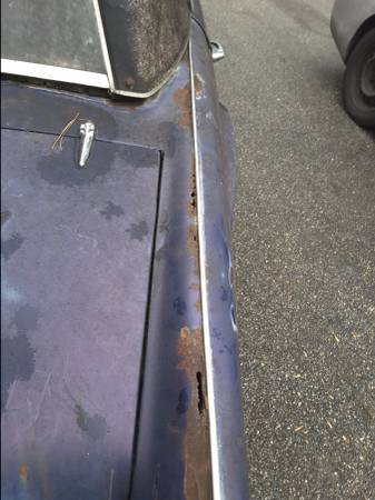 '67 TR4A rust